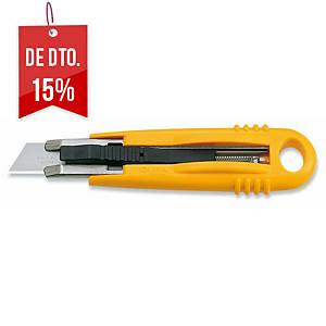 X-ato de segurança Olfa SK4 - 18mm - amarelo