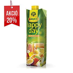 Happy Day gyümölcslé 100% multivitamin, 1l