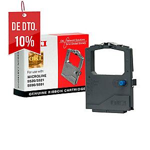 Fita impressora matricial OKI preto 01126301 para OKI ML-5520/5521/ML-5590/5591