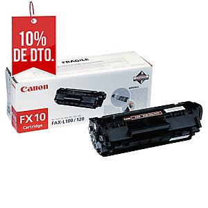 Tóner láser CANON negro FX10 para fax L-100/120