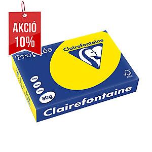 Trophée sárga papír A4, neon szín, 80 g/m², 500 ív/csomag