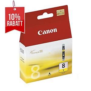 Tintenpatrone Canon BCI-8Y, 490 Seiten, yellow