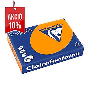 Trophée narancssárga papír A4, neon szín, 80 g/m², 500 ív/csomag