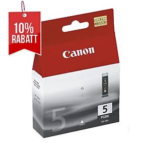 Tintenpatrone Canon PGI-5BK, 360 Seiten, schwarz