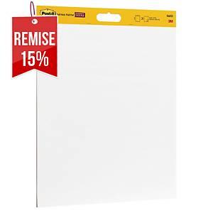 Paperboard adhésif Post-it Super Sticky - 50,8 x 58,4 cm - 2 x 20 feuilles