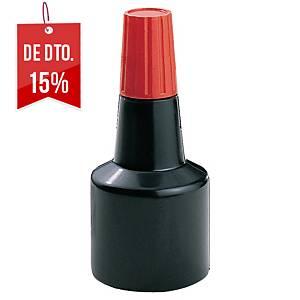 Tinta para almofada de carimbo n.º 2 - 30ml - vermelho
