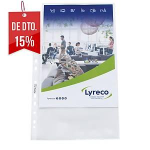 Pack de 100 micas Lyreco - A4 - PP - 80 µ
