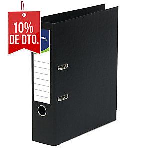 Archivador de palanca Lyreco - folio - lomo 80 mm - negro