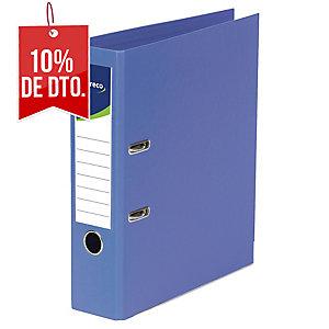 Archivador de palanca Lyreco - folio - lomo 80 mm - azul