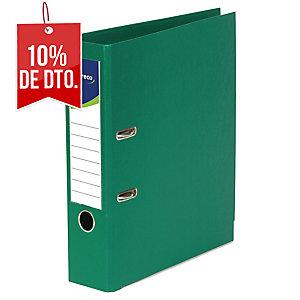 Archivador de palanca Lyreco - folio - lomo 80 mm - verde