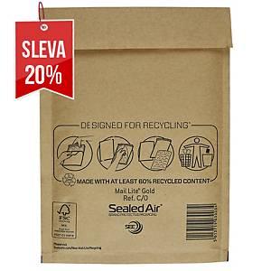 Bublinková obálka SealedAir Mail Lite® Gold, 150 x 210 mm, hnědá, 100 kusů