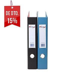 Dossier Pardo - fólio - 2 argolas - lombada 55 mm - azul