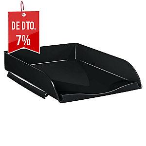 Bandeja portadocumentos preta carga frontal LYRECO  Dimensões: 257X66X348mm