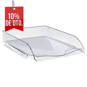 Bandeja de sobremesa Lyreco - poliestireno - transparente