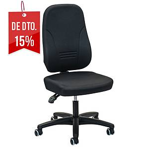 Cadeira com mecanismo de contacto permanente Prosedia Younico 1451 - preto