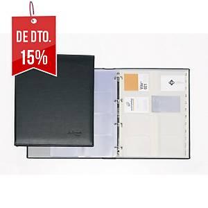 Porta-cartões Pardo - 280 x 315 mm - 320 cartões - preto
