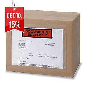 Caixa 250 envelopes para envio autocolantes - 110 x 161 mm