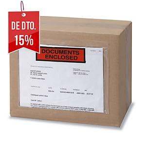 Caixa 250 envelopes para envio autocolantes - 240 x 115 mm
