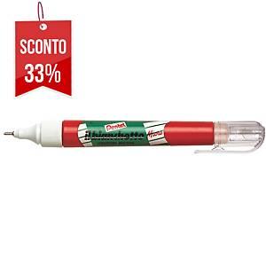Correttore liquido a penna Pentel Bianchetto micro punta in metallo 7 ml