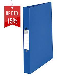 Dossier Exacompta - A4 - 4 argolas - lombada 40mm - azul