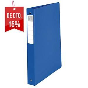 Dossier Exacompta - A4 - 2 argolas - lombada 40mm - azul