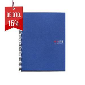 Caderno espiral Miquelrius Notebook 6 - A5 - 150 folhas - quadriculado