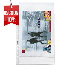 BX 100 MULTI-PUNCHED POCKETS FOLIO