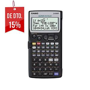 Calculadora programável Casio FX-5800P