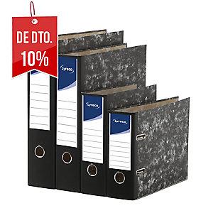 Dossier lyreco folio com 75 mm de lombada marmorizado