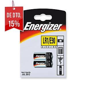 Pack de 2 pilhas alcalinas Energizer E90/LR01