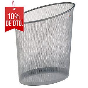 Papelera metálica color gris ALBA Mesh  Dimensiones:    355 x 240 x 390mm
