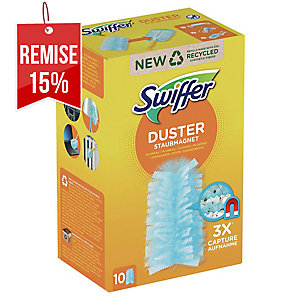 PAQUET 10 RECHARGES PLUMEAUX SWIFFER DUSTER