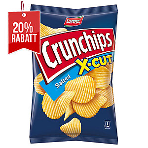 Lorenz Crunchips X-Cut Kartoffelchips gesalzen 85 g