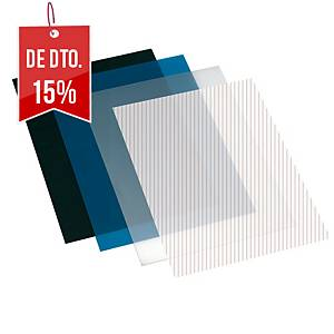 Pack de 50 capas de encadernação - A4 - PP - transparente