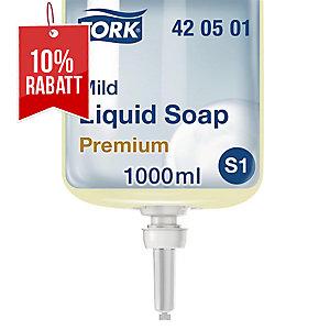 Seifen Nachfüllung Tork Premium 420501, für Spender S1, flüssig, 1 Liter