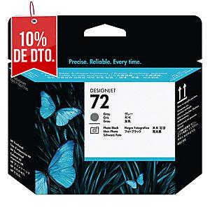 Cabezal de tinta HP 72 gris/negro foto C9380A para DesignJet T-610/620/770/1100