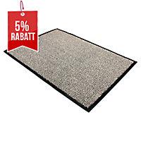 Schmutzfangmatte Doortex Vinyl-Rücken Maße: 60 x 90cm (L x B) Farbe: grau