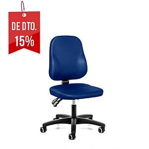 Cadeira com mecanismo de contacto permanente Prosedia Baseline - azul