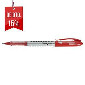 Roller metálico de tinta líquida Lyreco Ball - vermelho