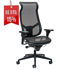 Cadeira com mecanismo sincronizado Prosedia Airspace 3642 - preto