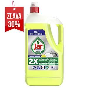 Prostriedok na ručné umývanie riadu Jar, citrón, 5 l