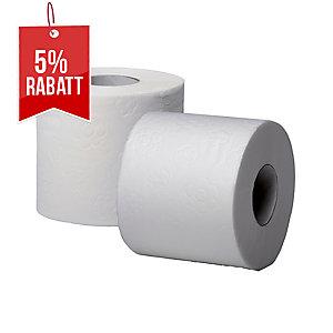Toilettenpapier Fripa Basic, 2-lagig, 250 Blatt, Recycling, 48 Stück