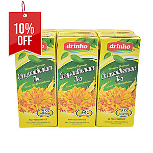 PACK OF 6 DRINHO CHRYSANTHEMUM TEA 250ML