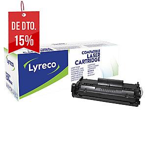 Toner laser LYRECO preto FX10 compatível com CANON para fax L-100/120