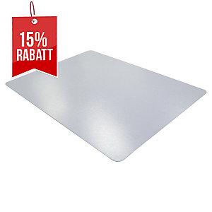 Bodenschutzmatte Cleartex 1215020ERA, 150x120cm, für glatte Böden, transparent