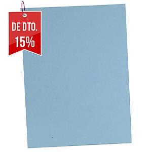 Pack 100 pastas classificadoras Lyreco - A4 - cartolina - azul