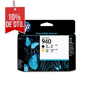Cabezal de tinta HP 940 negro/amarillo C4900A para OfficeJet Pro8000/8500