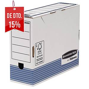 Pack 10 caixas arquivo Fellowes Bankers Box System - A4+ - lombada 100mm