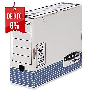 Pack de 10 caixas arquivo definitivo recicladas A4Lombada 100mmFELLOWES
