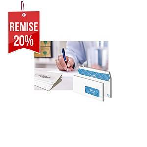 Enveloppe Lyreco Premium 229 x 324 - 100 g siliconée fenêtre 50 x 100 - par 250